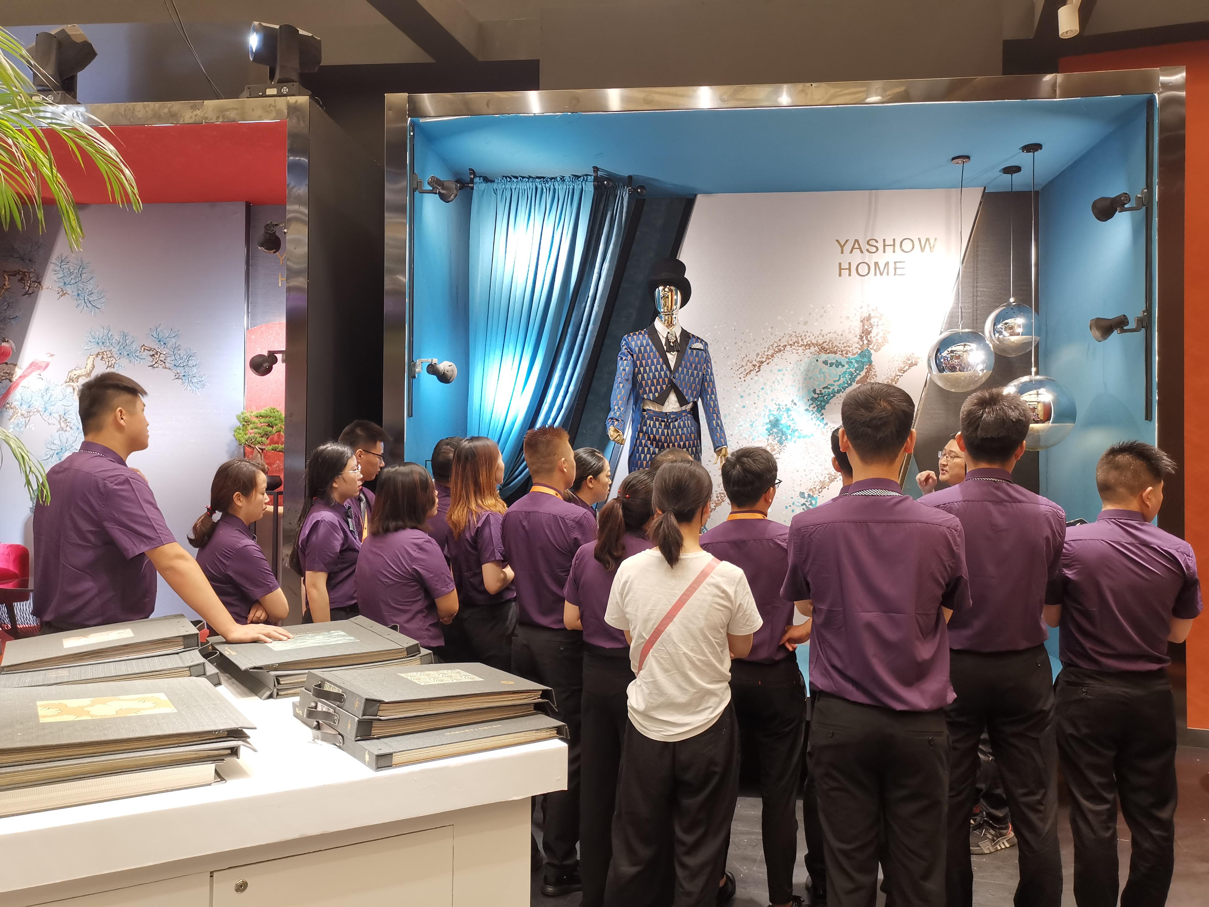 雅绣之家8月盛装出席上海家居软装展