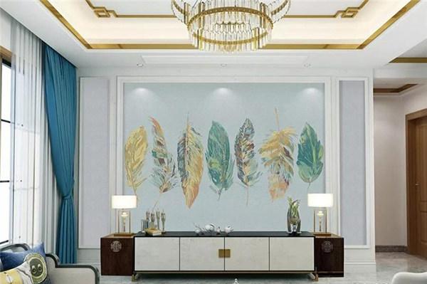 无缝壁布和传统墙面材料的区别