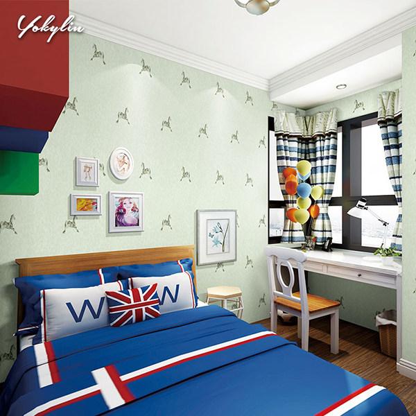 卧室墙布装饰